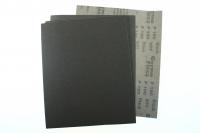 Лист шлиф.бумага с латексом 230/280 Black э.корунд черн. P80