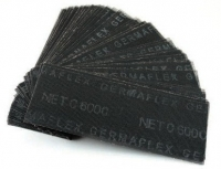 Сетка шлиф-я из стекловолокна 105/270 карбид кремн.черн.(1уп-50шт) P150