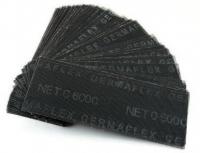 Сетка шлиф-я из стекловолокна 105/270 карбид кремн.черн.(1уп-50шт) P80