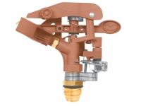 """Ороситель водяной двухсторонний 11 дюймов ASP-11X+Коннектор для шланга пластиковый папа 5\8""""-3\4"""""""