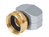 Коннектор соединительный 5/8-3/4, метал, внутренняя резьба 17297