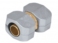 Коннектор соединительный 5/8-3/4, метал, комплект 17299