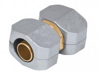 Коннектор соединительный 5/8-3/4 , метал, комплект 17299