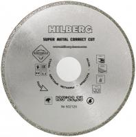 Диск алмазный отрезной 125*22,23 Hilberg Super Metall Сorrect Cut