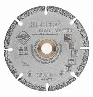 Диск алмазный отрезной 76*10 Hilberg Super Master