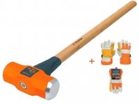 Кувалда 6,35 кг деревянная ручка 16514