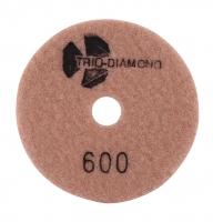 """Алмазный гибкий шлифовальный круг """"Черепашка"""" d100 №600"""