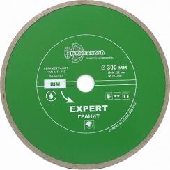Диск алмазный сплошной Эксперт Гранит hot press 300x8/32-2,2мм (переходное кольцо на 25,4)