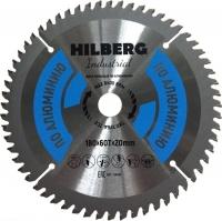 Диск пильный Hilberg Industrial Алюминий 180x60Т*20мм