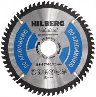 Диск пильный Hilberg Industrial Алюминий 185x60Т*30/20мм