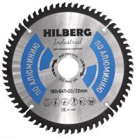 Диск пильный Hilberg Industrial Алюминий 190x64Т*30/20мм