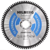 Диск пильный Hilberg Industrial Алюминий 210x80Т*30мм