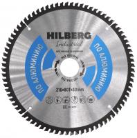 Диск пильный Hilberg Industrial Алюминий 216x80Т*30мм