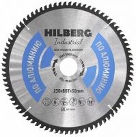 Диск пильный Hilberg Industrial Алюминий 230x80Т*30мм