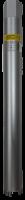 Коронка Hilberg Laser 1 1/4 UNC 4T 46*450мм