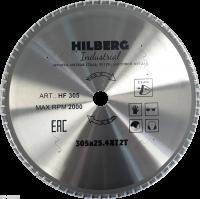 Диск пильный Hilberg Indastrial Метал 305x72Т*25,4мм