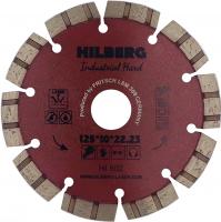 Диск алмазный отрезной TURBO SEGMENT Industrial Hard 125x10*22.23мм