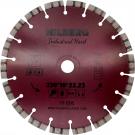 Диск алмазный отрезной TURBO SEGMENT Industrial Hard 230x10*22.23мм