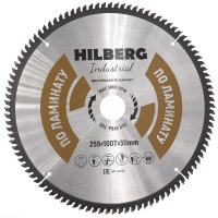 Диск пильный Hilberg Industrial Ламинат 255x100Т*30мм