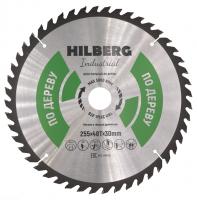 Диск пильный Hilberg Indastrial Дерево 255x48Т*30мм