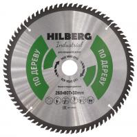 Диск пильный Hilberg Industrial Дерево 260x80Т*30мм