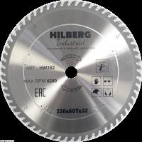 Диск пильный Hilberg Industrial Дерево 350x60Т*32мм