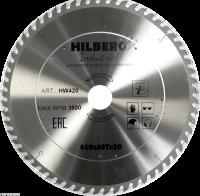 Диск пильный Hilberg Industrial Дерево 400x60Т*50мм