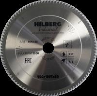 Диск пильный Hilberg Indastrial Дерево 400x100Т*50мм