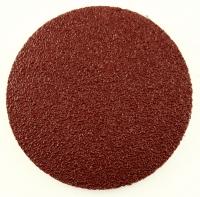 Круг абразивный на липучке 125мм б.о.(1уп-50шт) P80