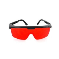 Очки красные для работы с лазерными приборами