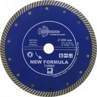 Диск алмазный TURBO 200x22мм