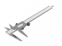 Штангенциркуль PRETUL 127 мм