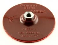 Диск опорный для кругов на липучке 125мм винт М14 Omega+шпиндель